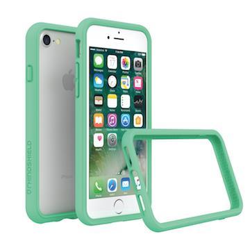 【iPhone 8 / 7】RHINO SHIELD犀牛盾防摔邊框 - 薄荷綠色