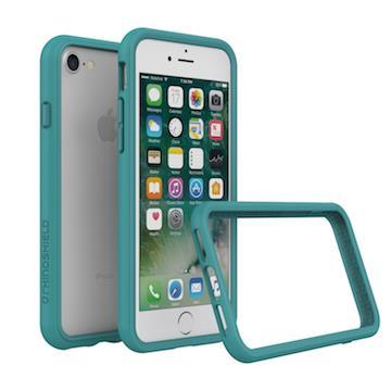 【iPhone 8 / 7】RHINO SHIELD犀牛盾防摔邊框 - 孔雀綠色