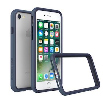 【iPhone 8 / 7】RHINO SHIELD犀牛盾 防摔邊框 - 靛藍色
