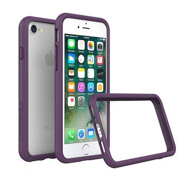 【iPhone 8 / 7】RHINO SHIELD犀牛盾防摔邊框 - 紫色