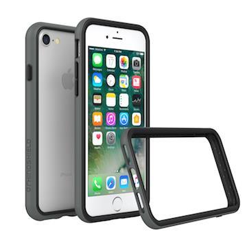 【iPhone 8 / 7】RHINO SHIELD犀牛盾防摔邊框 - 深灰色