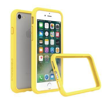 【iPhone 8 / 7】RHINO SHIELD犀牛盾防摔邊框 - 黃色