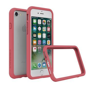 【iPhone 8 / 7】RHINO SHIELD犀牛盾防摔邊框 - 山茶紅色