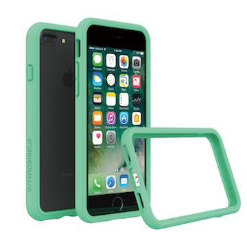 【iPhone 8 Plus / 7 Plus】RHINO SHIELD 犀牛盾防摔邊框 - 薄荷綠色