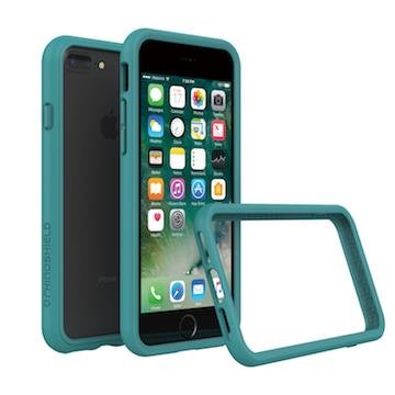 【iPhone 8 Plus / 7 Plus】RHINO SHIELD 犀牛盾防摔邊框 - 孔雀綠色