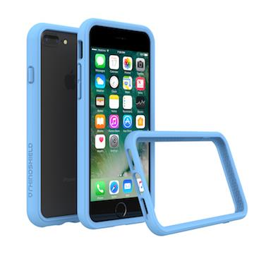 【iPhone 8 Plus / 7 Plus】RHINO SHIELD 犀牛盾防摔邊框 - 北卡藍色