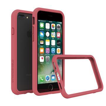 【iPhone 8 Plus / 7 Plus】RHINO SHIELD 犀牛盾防摔邊框 - 山茶紅色
