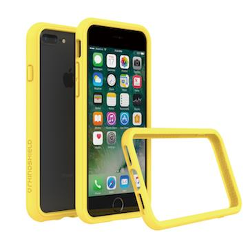 【iPhone 8 Plus / 7 Plus】RHINO SHIELD 犀牛盾防摔邊框 - 黃色