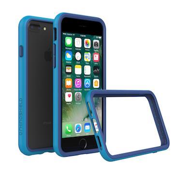 【iPhone 8 Plus / 7 Plus】RHINO SHIELD 犀牛盾防摔邊框 - 藍色