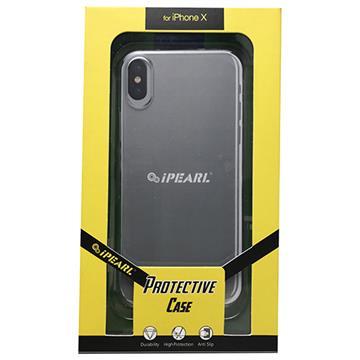 【iPhone X】iPearl 極薄保護殼-白