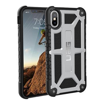 【iPhone X】UAG 頂級版耐衝擊保護殼-白金