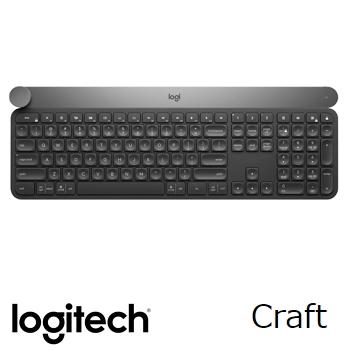 【送耳機】羅技 Logitech Craft 創意輸入轉扭無線鍵盤