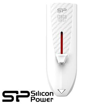 【128G】廣穎 Silicon-Power Blaze B25 USB 3.1隨身碟(白)