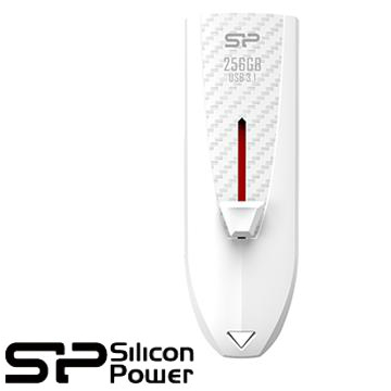 【256G】廣穎 Silicon-Power Blaze B25 USB 3.1隨身碟(白)