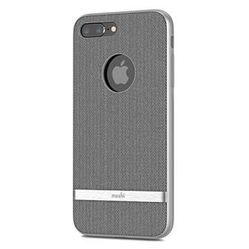 【iPhone 8 Plus / 7 Plus】Moshi Vesta 布面保護殼 - 灰