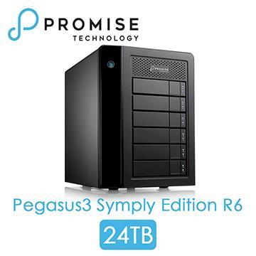 PROMISE Pegasus3 R6 Thunderbolt3 24TB
