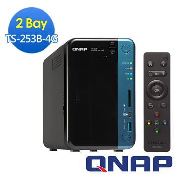 QNAP威聯通 TS-253B-4G網路儲存伺服器 TS-253B-4G