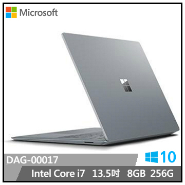 【福利品】微軟Surface Laptop i7-8G-256G電腦(白金) DAJ-00017