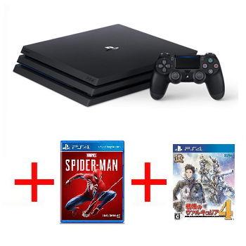 網銷限定綑綁組【1TB】PS4 Pro 主機 - 極致黑