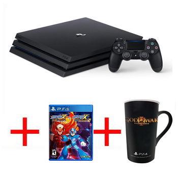 【限量網銷獨賣組B】-【1TB】PS4 Pro 主機 - 極致黑