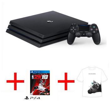 【限量網銷獨賣組D】-【1TB】PS4 Pro 主機 - 極致黑