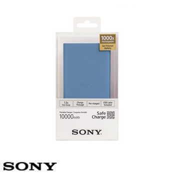 【10000mAh】SONY  CP-V10B 行動電源 - 藍色