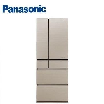 【福利品】Panasonic 600公升六門變頻玻璃冰箱