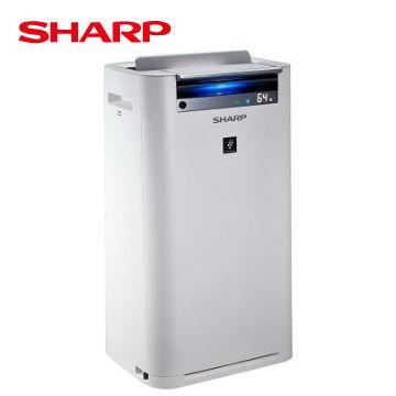 SHARP 日本進口14坪自動除菌離子清淨機 KC-JH60T-W