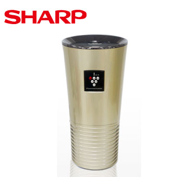 SHARP 車用自動除菌離子產生器(香檳金)