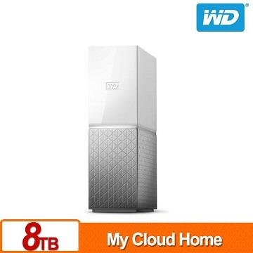 WD 3.5吋 8TB 雲端儲存系統(My Cloud Home)