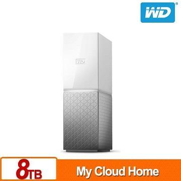 WD 3.5吋 8TB 雲端儲存系統(My Cloud Home) WDBVXC0080HWT-SESN