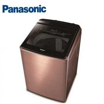 Panasonic 18公斤變頻洗衣機 NA-V198EBS-B(薔薇金)