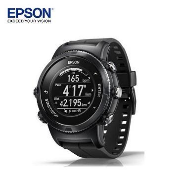 【藍寶石】EPSON U-350B GPS全能鐵人教練智慧手錶
