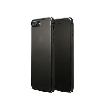 【iPhone 8 Plus / 7 Plus】OVERDIGI 雙料鋁合金邊框 - 黑