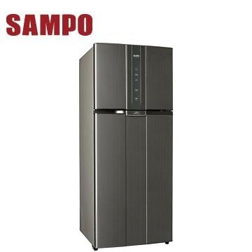 【福利品】聲寶 580公升雙門變頻冰箱