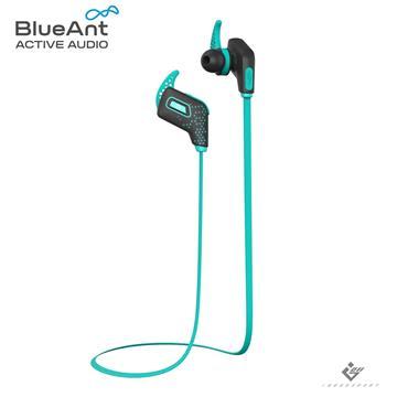BlueAnt PUMP Lite 2 藍牙運動耳機-極光藍