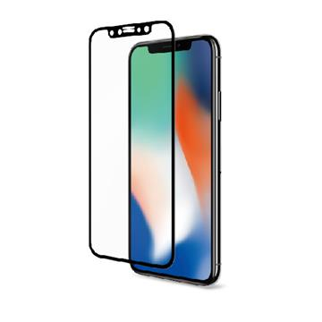 【 iPhone 5.8吋】Riivan 2.5D滿版玻璃保護貼 - 黑