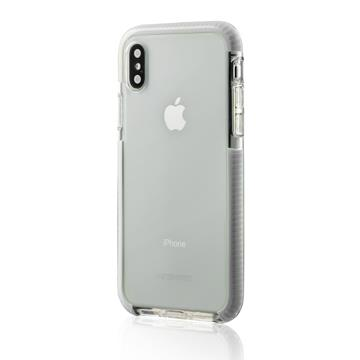 【iPhone X】HALO 夜光透明防摔保護殼 - 白色