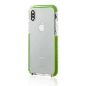【iPhone X】HALO 夜光透明防摔保護殼 - 綠色