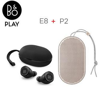 B&O PLAY真無線藍牙耳機 + B&O PLAY藍牙揚聲器【組合價公司貨】P2(香檳金)