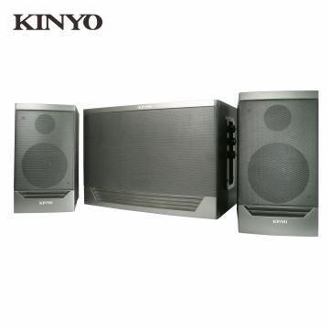 KINYO 2.1聲道三件式超重低音藍牙多媒體喇叭