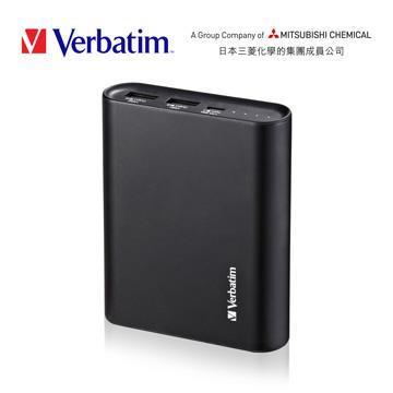Verbatim 10400mAh 行動電源-黑
