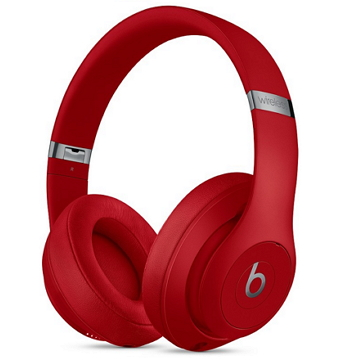 展示機-Beats Studio3 Wireless 頭戴式耳機-紅