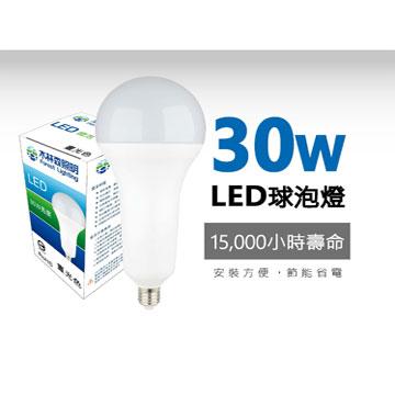 木林森 30W LED燈泡-白光