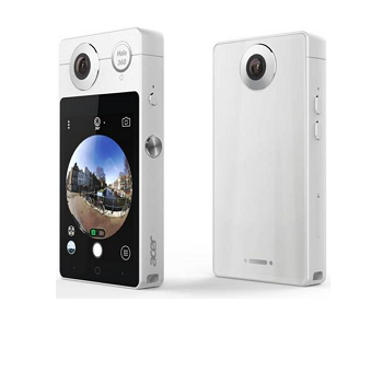 【特惠】Acer 宏碁 HoLo 360智慧型全景相機 - 白色