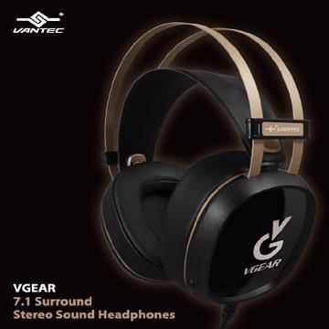 凡達克 VGEAR HS-100HR USB 7.1聲道耳罩式耳機麥克風 HS-100HR