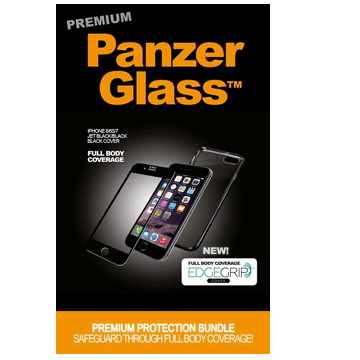 PanzerGlass 3D 滿版鋼化玻璃保護貼 - 黑