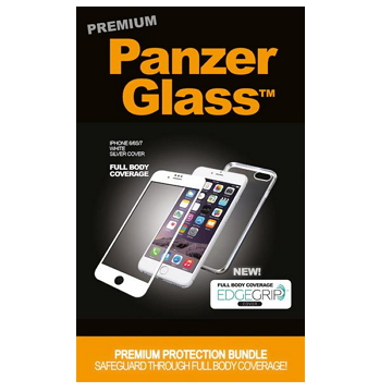 PanzerGlass 3D 滿版鋼化玻璃保護貼 - 白 P2616