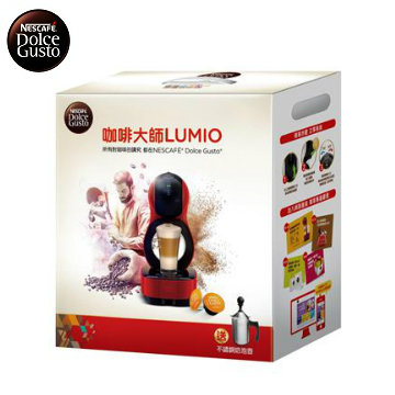 雀巢咖啡大師新春禮盒-Lumio Lumio奶泡壺禮盒
