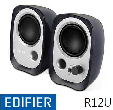 Edifier 漫步者 EDR12U 2.0 聲道二件式喇叭 - 黑色